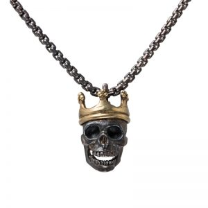 Royal Skull gold crown